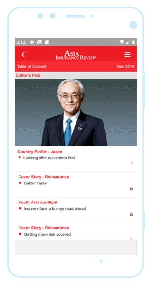 Asia Insurance Review web portal case study