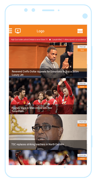 Citizen TV news mobile app case study