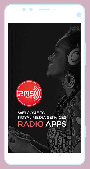 Royal Media Services Radio App case study