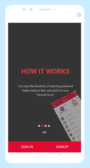 Making of Royal Media Services mobile Radio App