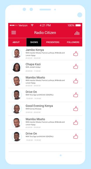 Royal Media Services Radio App mobile app development