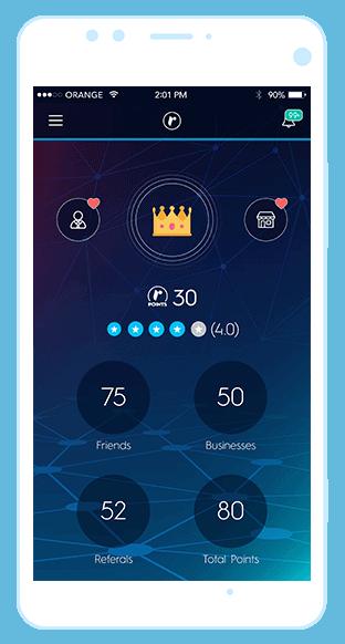Referr mobile app