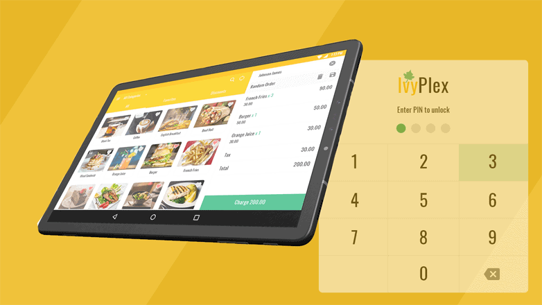 IvyPlex restaurant POS system