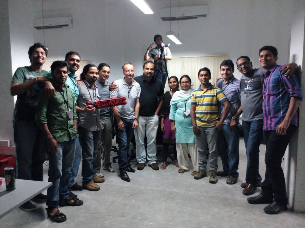 DBS hackathon winner AlignMInds Technologies