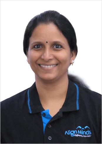 Jisha Nirmal Human Resource manager AlignMinds Technologies