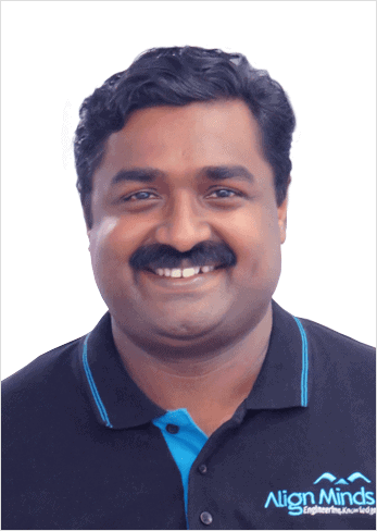 Manoi Pillai Delivery manager AlignMinds Technologies