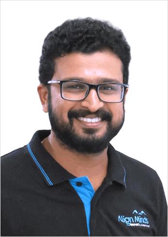 Sarath Menon Finance manager AlignMinds