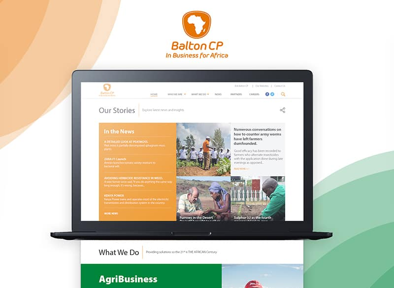 Who developed Balton CP website