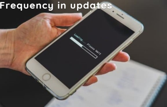 Frequency in updates