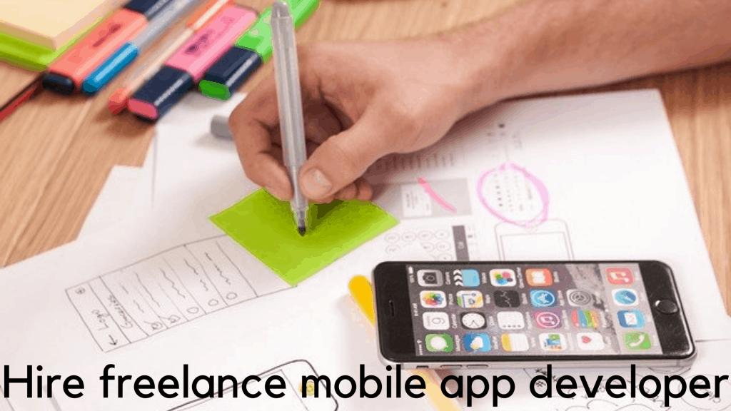 Hire freelance mobile app developer