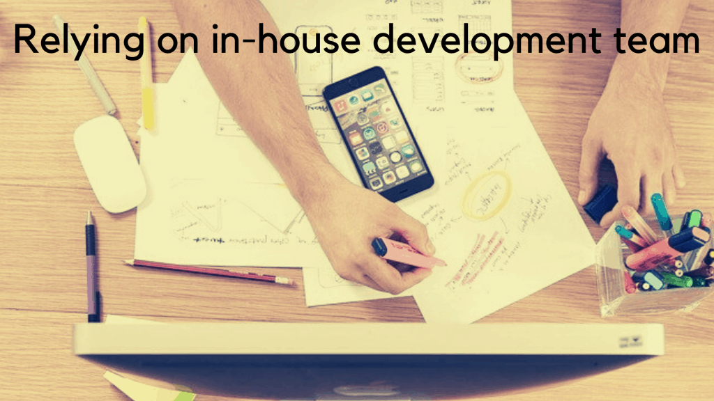 Hiring in-house development team
