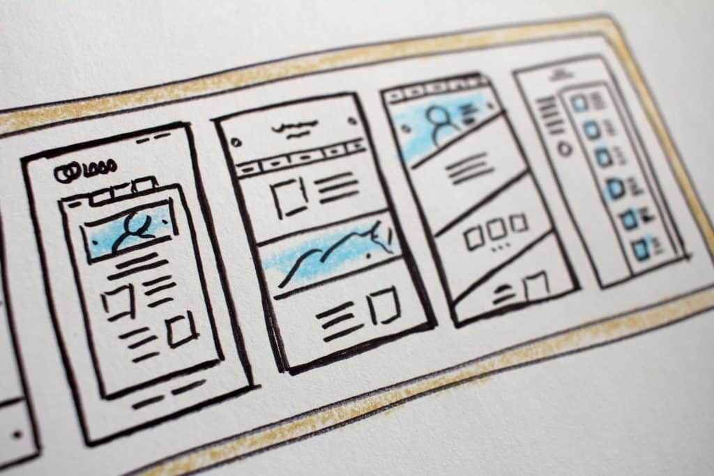 Custom web design process: Planning visual elements