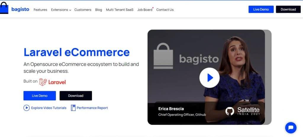 Build ecommerce solution using Laravel