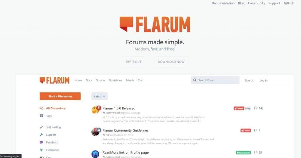 Build forums using Laravel