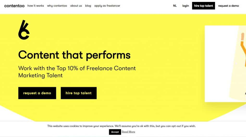 Build freelance platfrom using Laravel Contentoo
