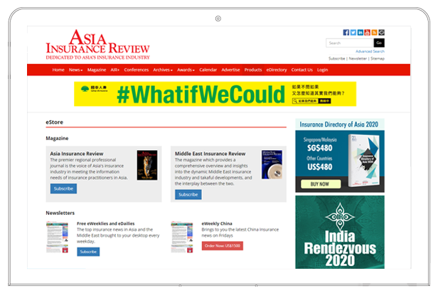 Asia Insurance Review website