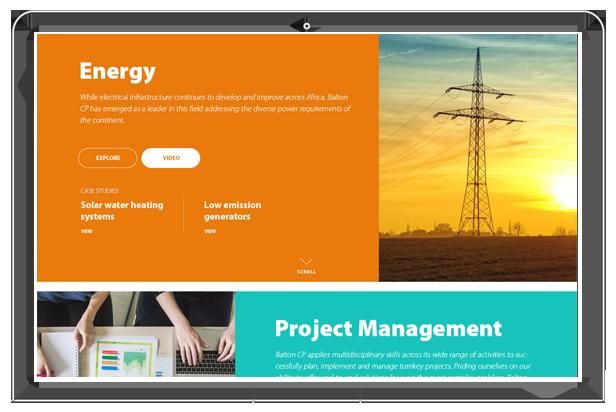 Balton CP website energy section
